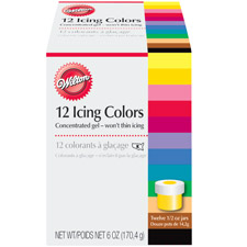 Use Icing Dye for Fondant Coloring