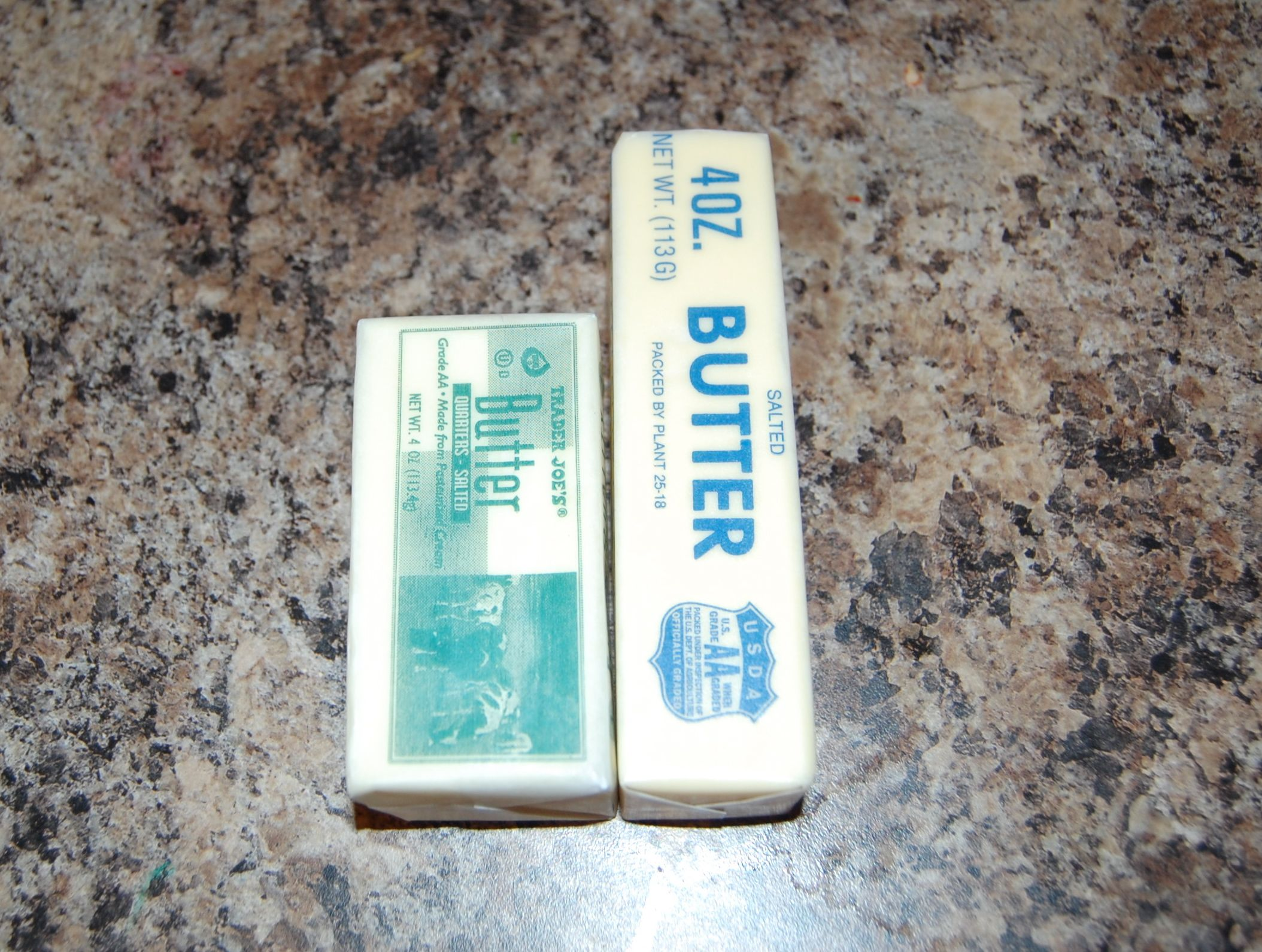 East vs western butter packaging ar15 com for 8 tablespoons of butter