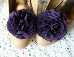 Chiffon-flower-shoe-clip-sunshine-and-carousels