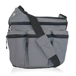 Diaper Dude Pinstripe Bag