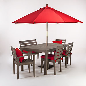 Take It Outside! An Outdoor Dining Furniture Round Up - Style Lush