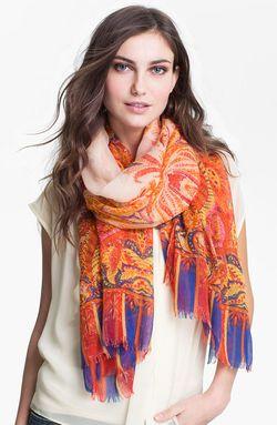 Tasha paisley scarf