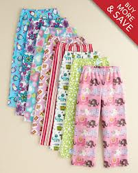 Kids garnet hill pj pants