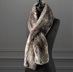 Faus-fur-scarf
