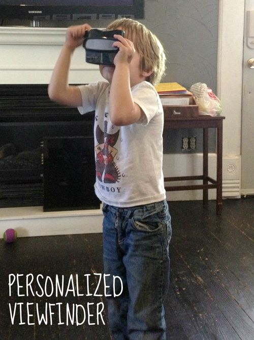 Personalized Viewfinder